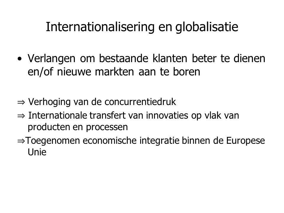 Internationalisering en globalisatie