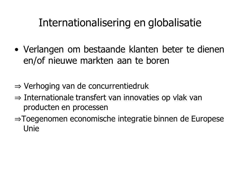 Internationalisering en globalisatie