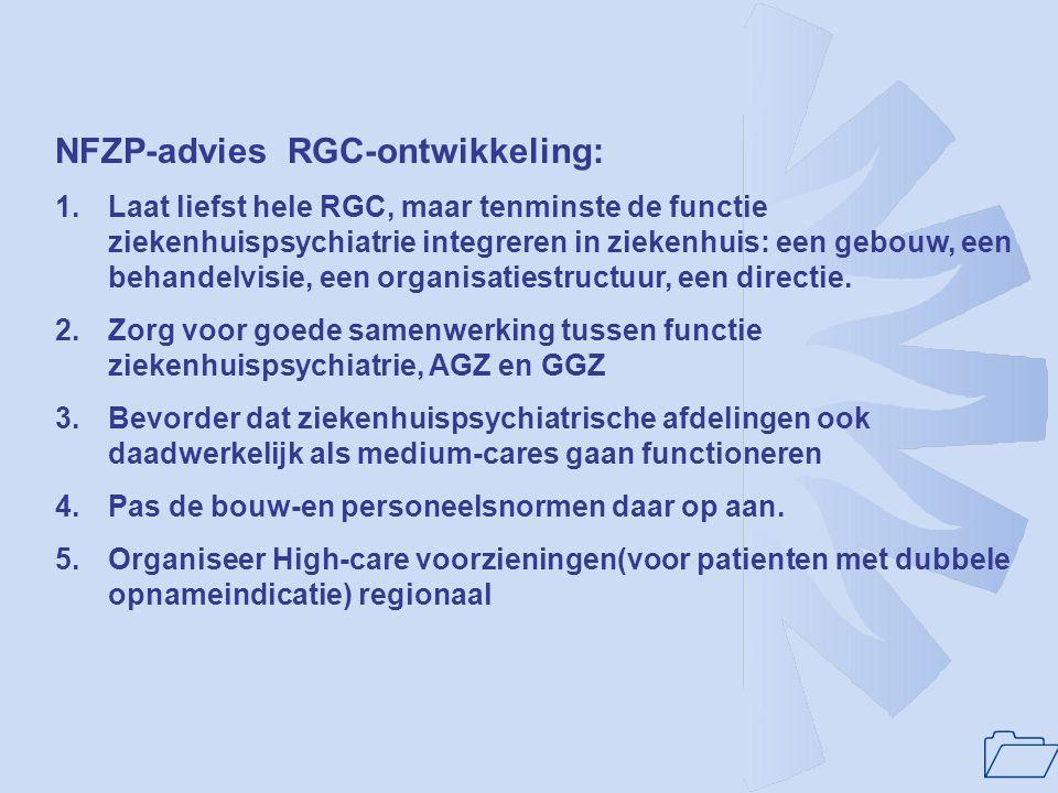 NFZP-advies RGC-ontwikkeling: