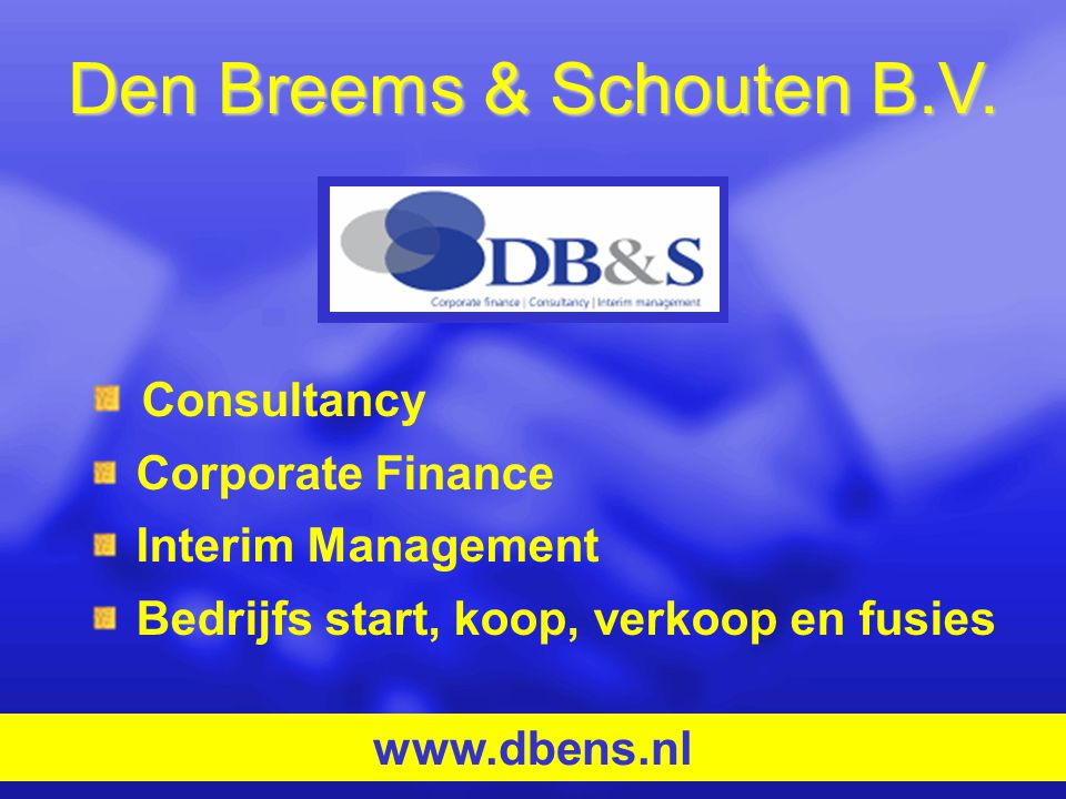 Den Breems & Schouten B.V.