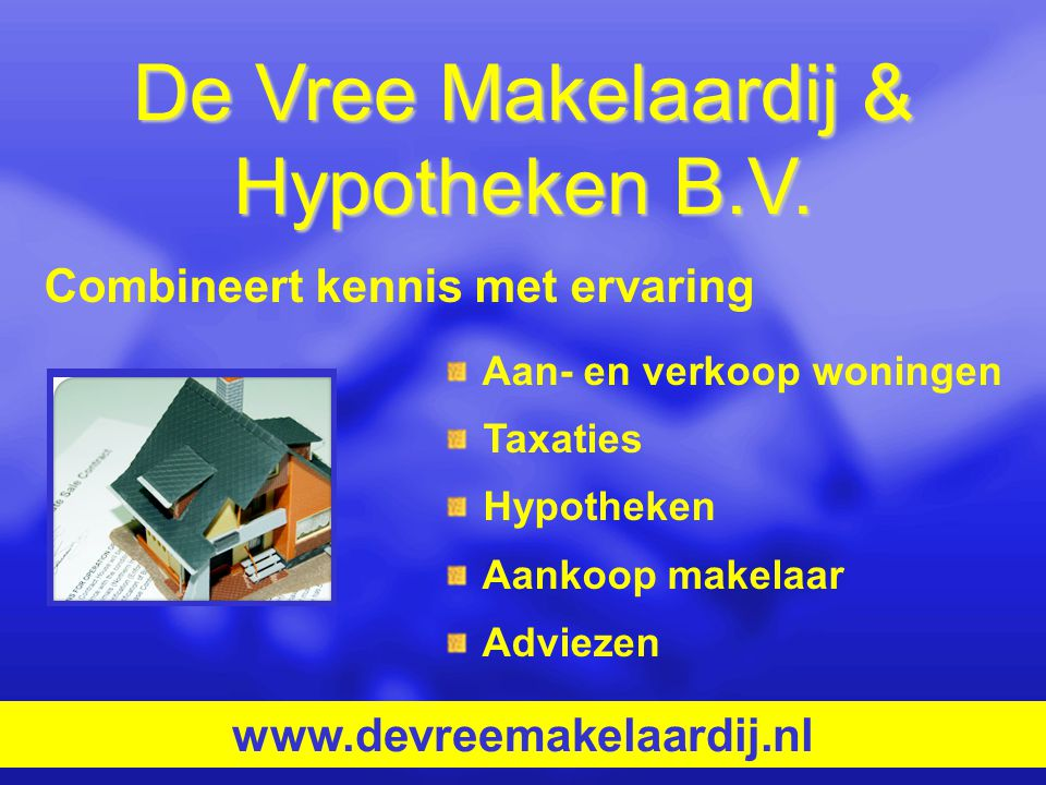 De Vree Makelaardij & Hypotheken B.V.