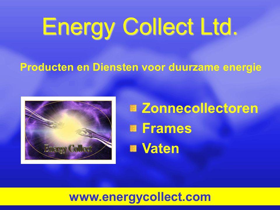 Producten en Diensten voor duurzame energie