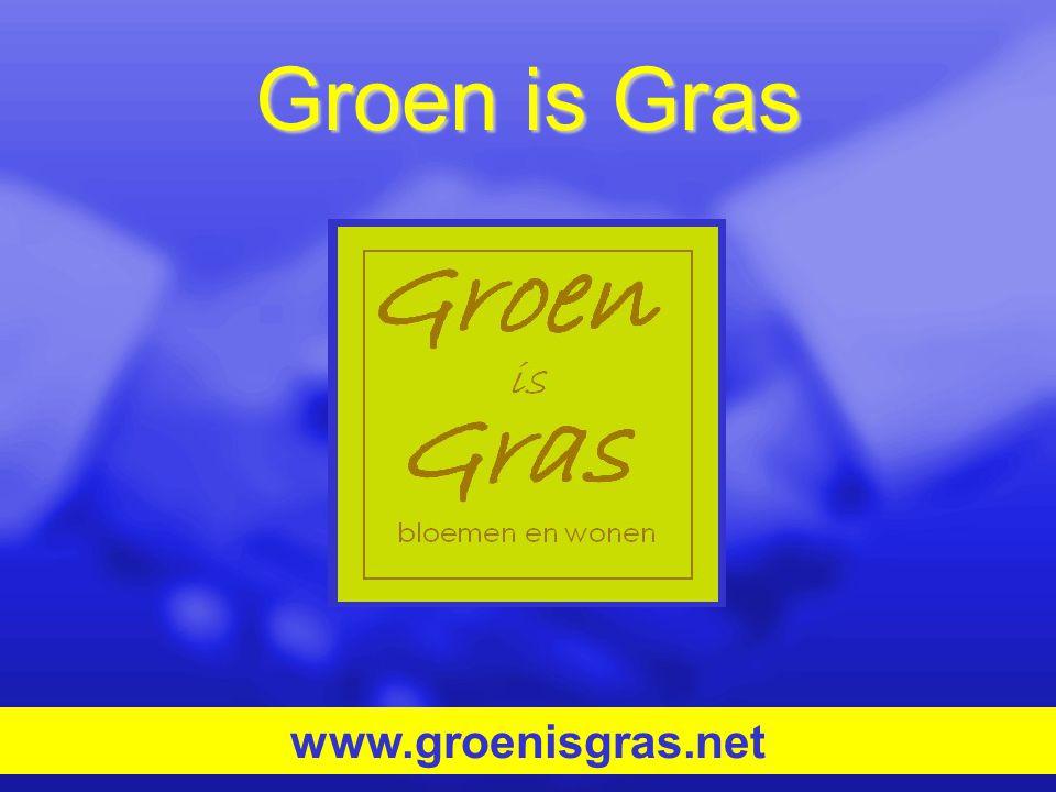 Groen is Gras www.groenisgras.net