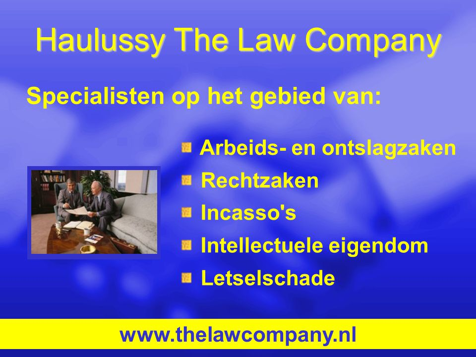 Haulussy The Law Company