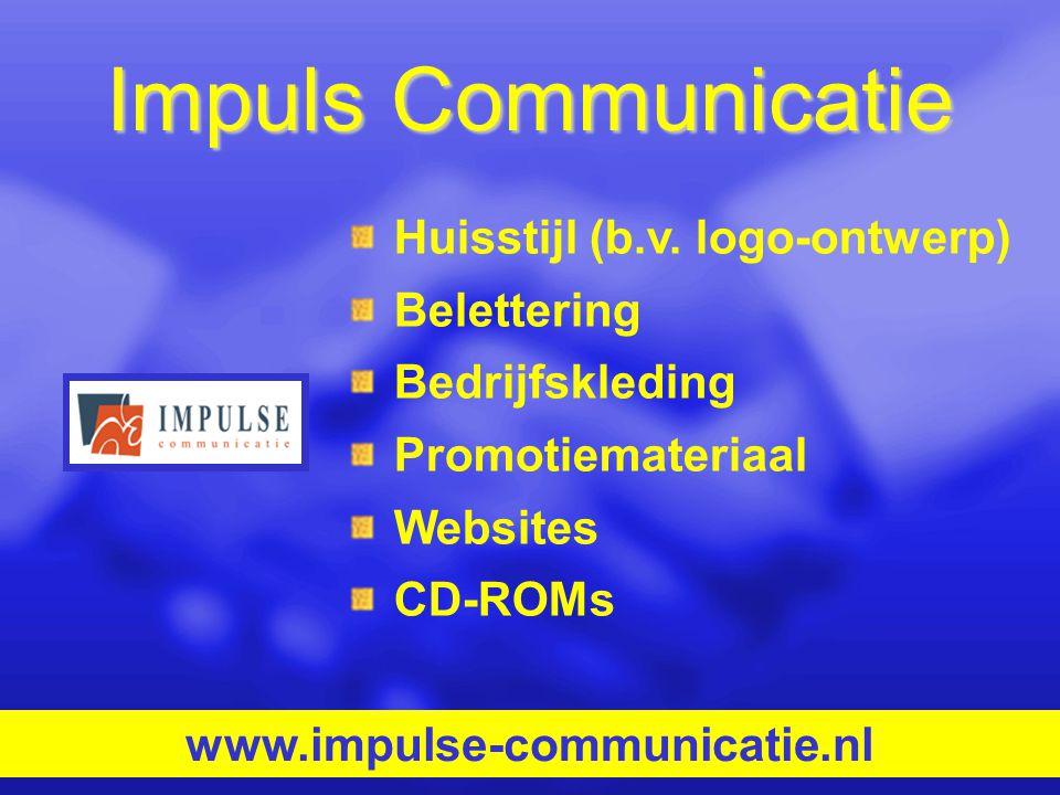 Impuls Communicatie Huisstijl (b.v. logo-ontwerp) Belettering