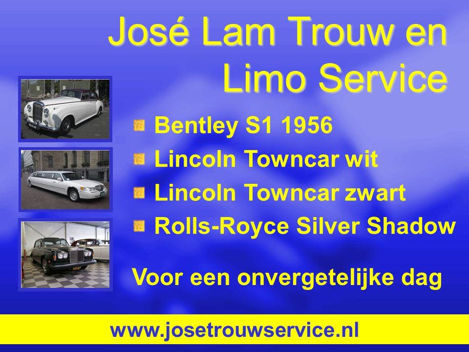 José Lam Trouw en Limo Service