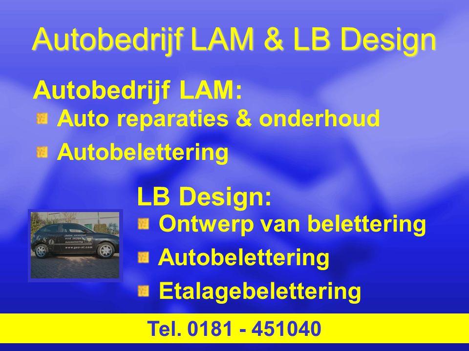 Autobedrijf LAM & LB Design