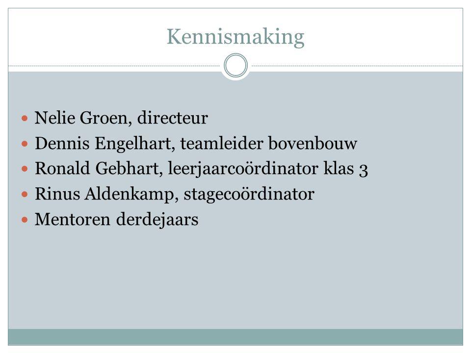 Kennismaking Nelie Groen, directeur