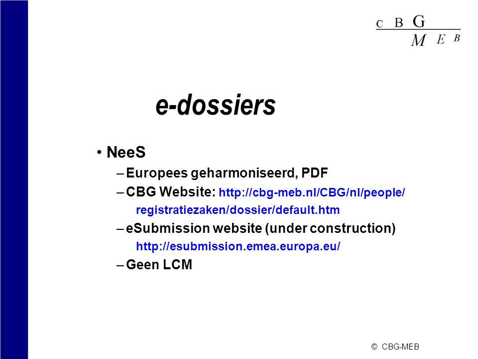 e-dossiers NeeS Europees geharmoniseerd, PDF