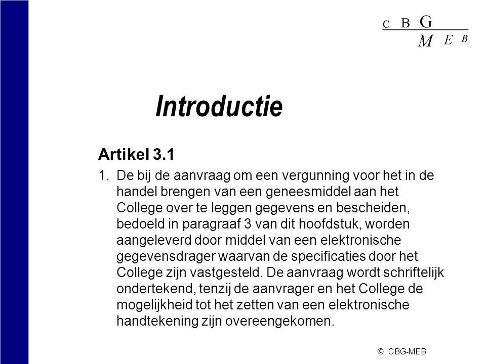 Introductie Artikel 3.1.