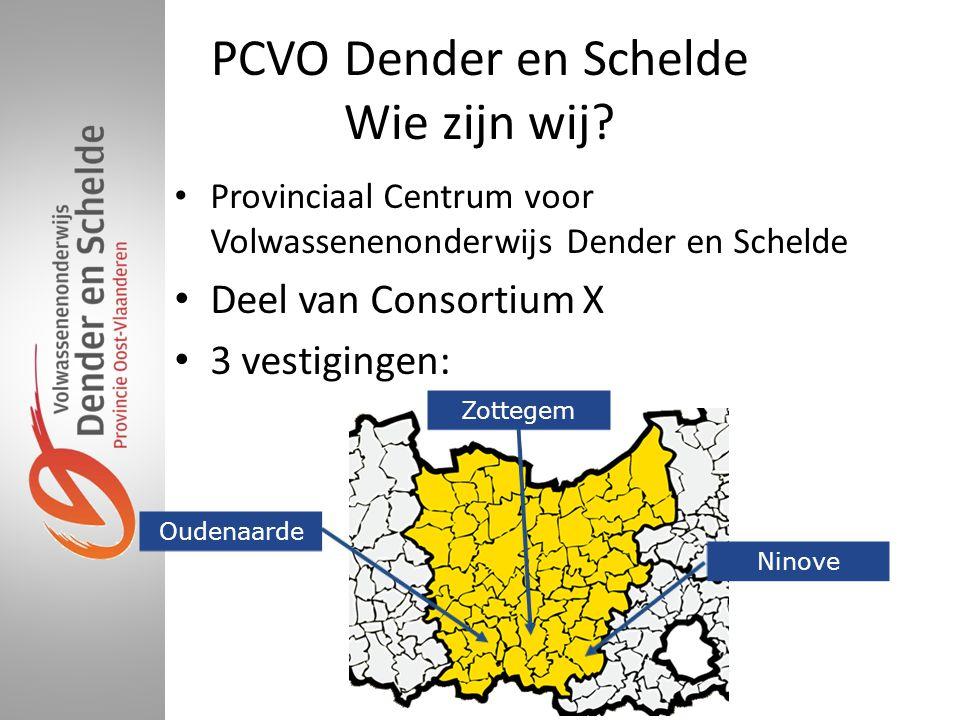 PCVO Dender en Schelde Wie zijn wij