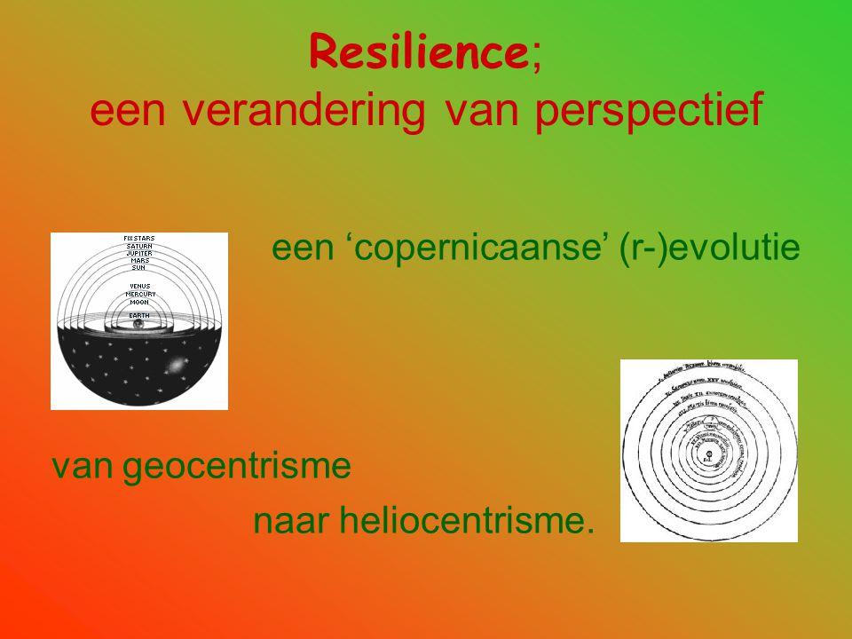 Resilience; een verandering van perspectief