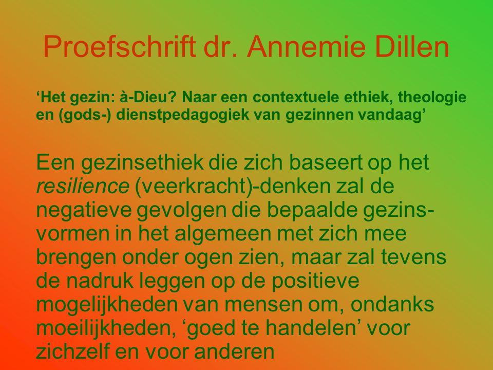 Proefschrift dr. Annemie Dillen