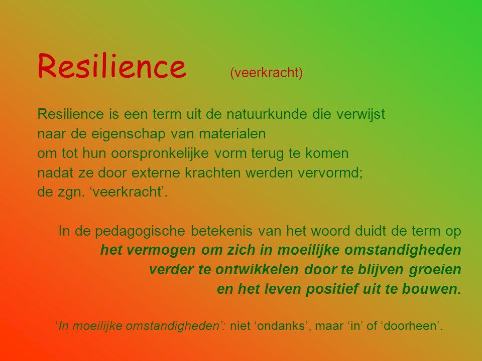 Resilience (veerkracht)