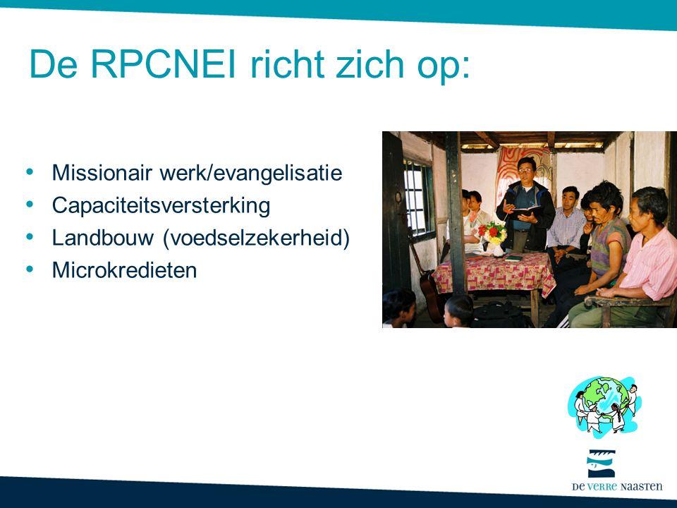 De RPCNEI richt zich op: