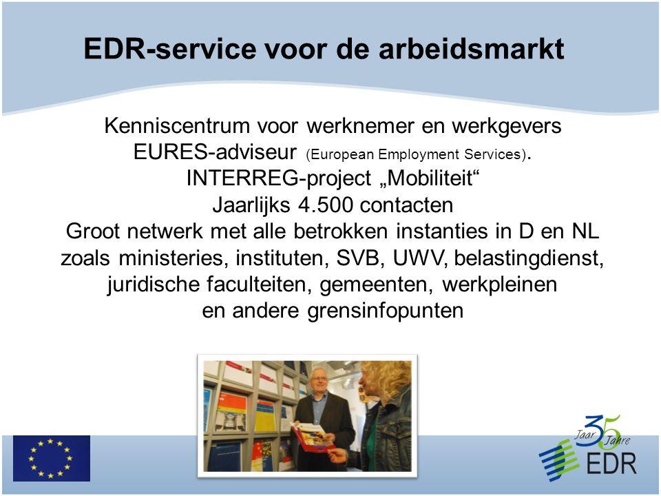 EDR-service voor de arbeidsmarkt