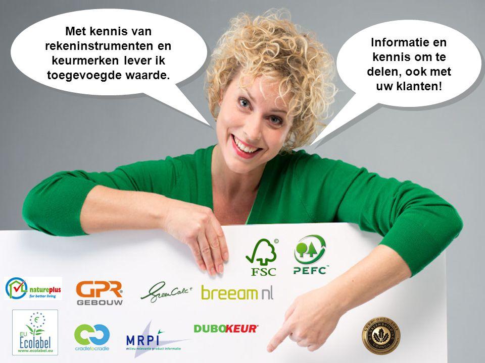 Informatie en kennis om te delen, ook met uw klanten!