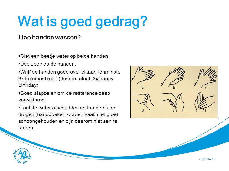 Wat is goed gedrag Faciliteren van handen wassen Bouw een tippy-tap