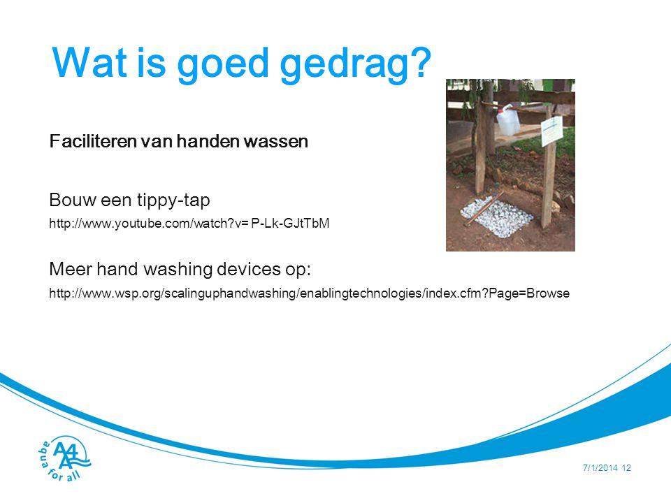 Wat is goed gedrag Aan welke designcriteria zou een watercontainer moeten voldoen om een veilige wateropslag te kunnen garanderen