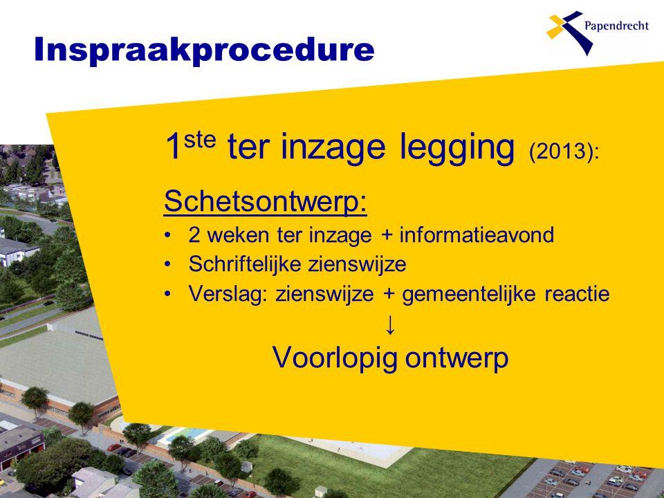 1ste ter inzage legging (2013):