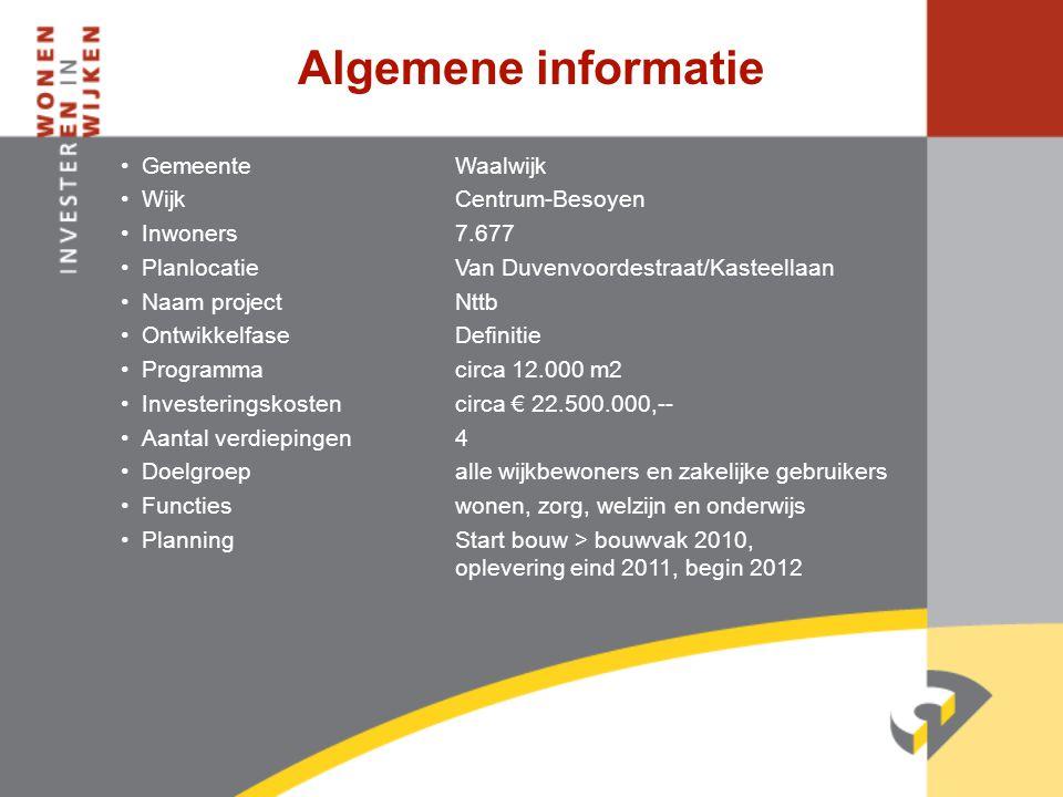 Algemene informatie Gemeente Waalwijk Wijk Centrum-Besoyen