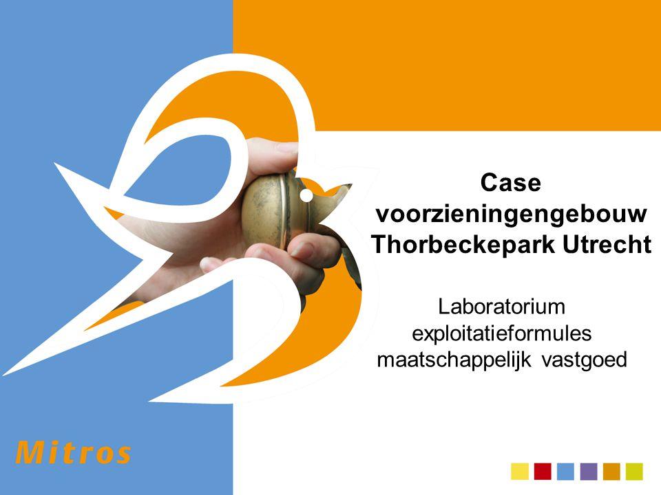 Case voorzieningengebouw Thorbeckepark Utrecht