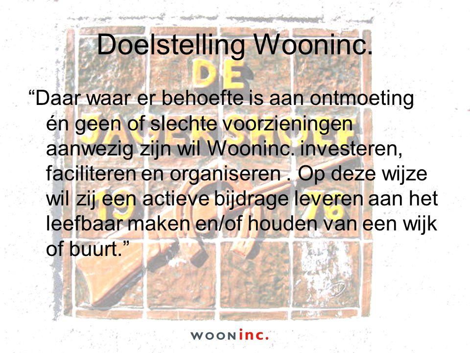 Doelstelling Wooninc.