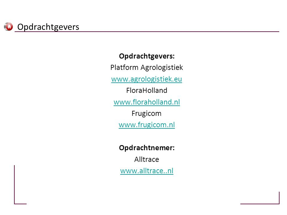 Platform Agrologistiek