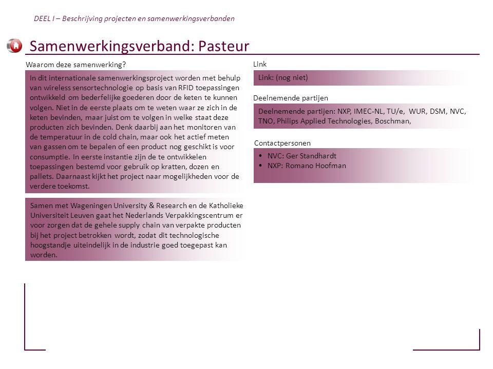 Samenwerkingsverband: Pasteur