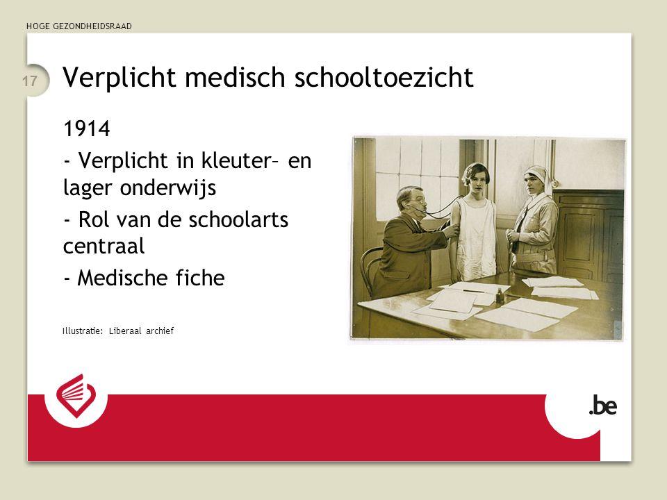 Verplicht medisch schooltoezicht