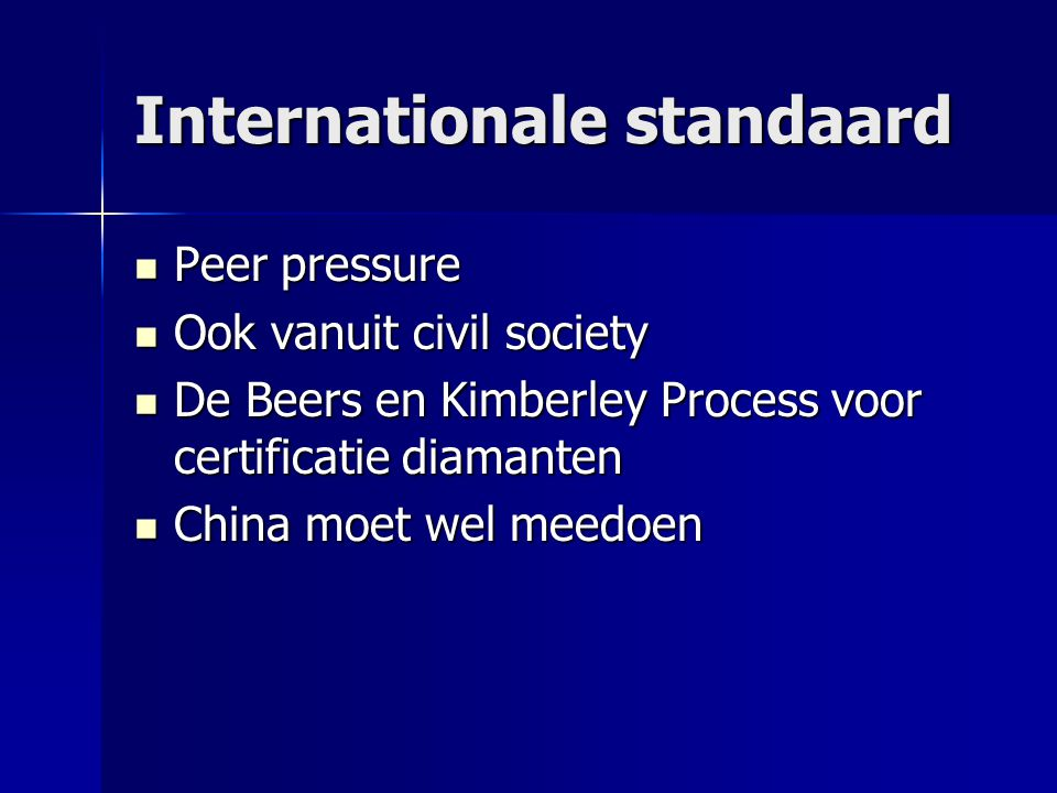 Internationale standaard