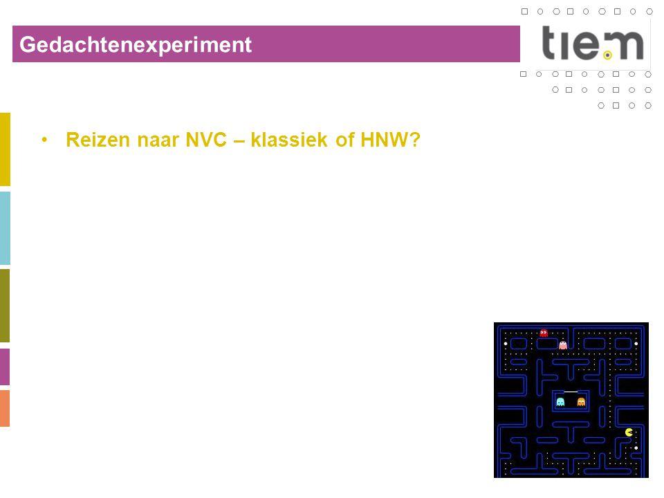 Gedachtenexperiment Reizen naar NVC – klassiek of HNW