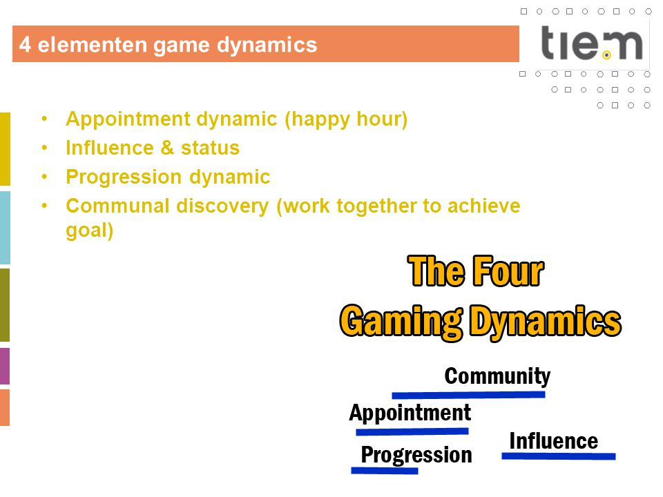 4 elementen game dynamics