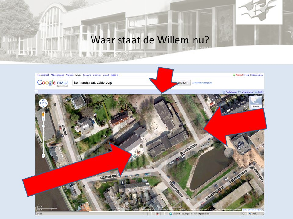 Waar staat de Willem nu