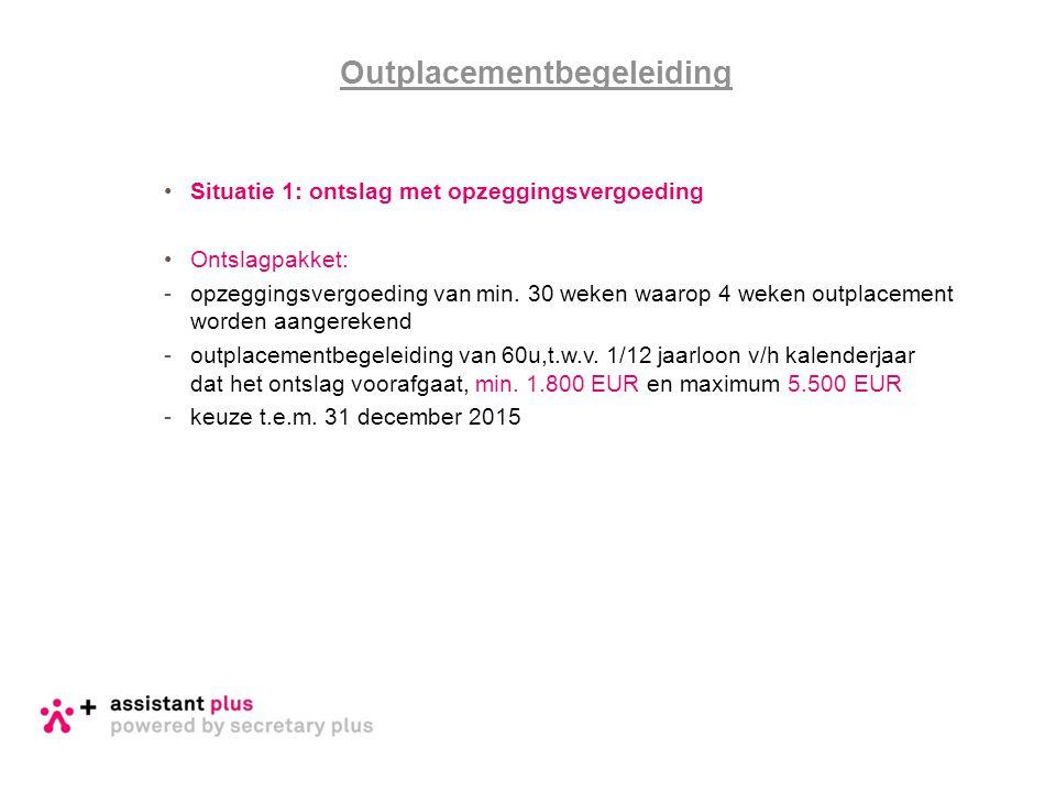 Outplacementbegeleiding