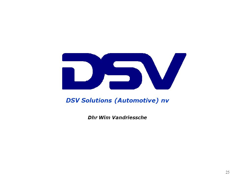 DSV Solutions (Automotive) nv