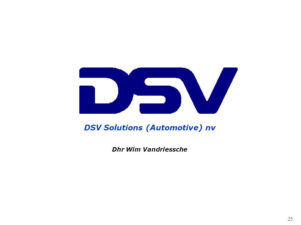 DSV Solutions (Automotive) nv