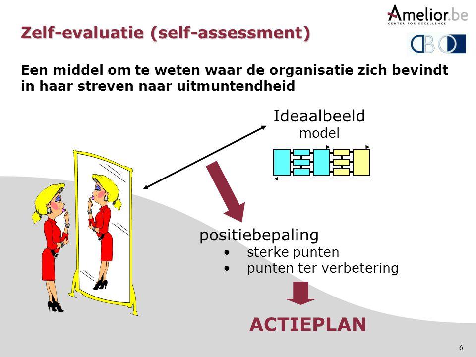 Zelf-evaluatie (self-assessment)