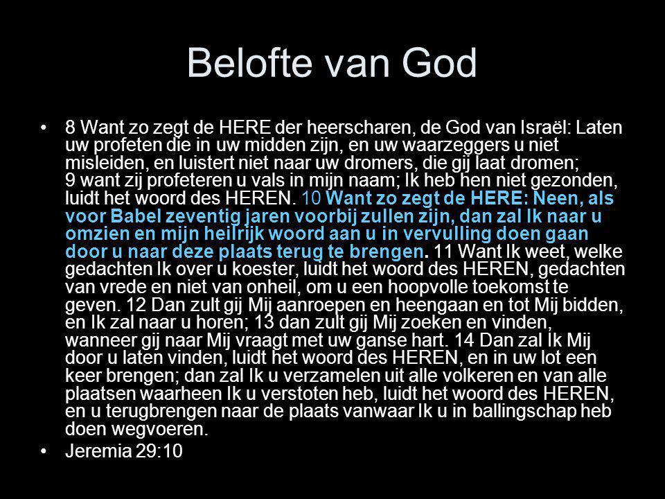 Belofte van God