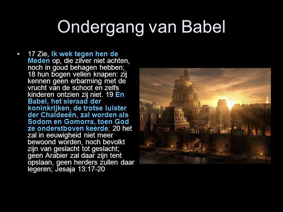 Ondergang van Babel