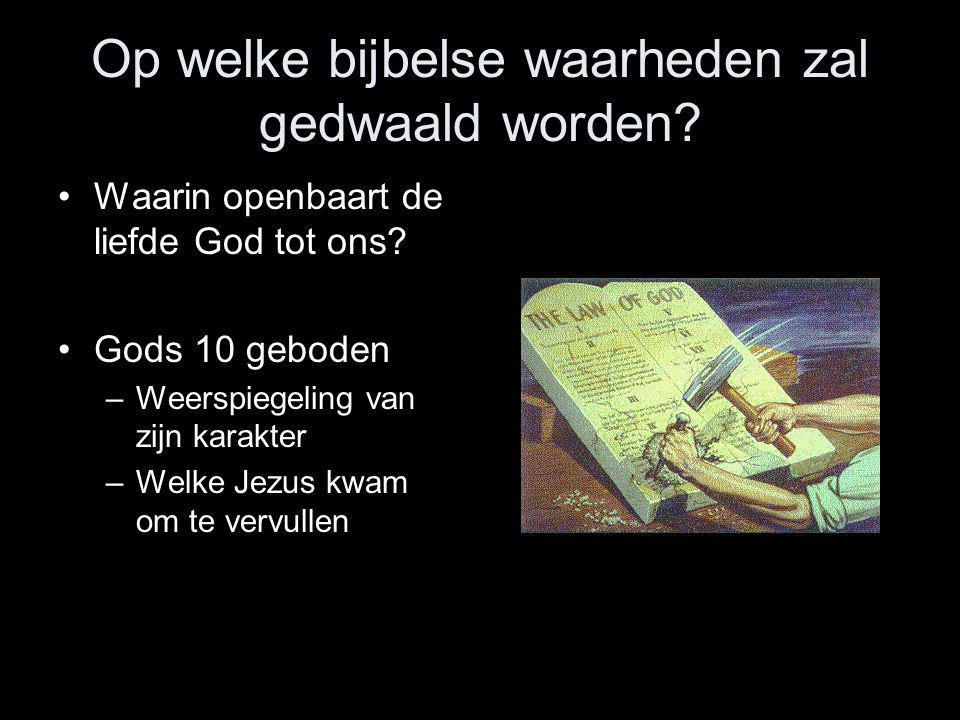 Op welke bijbelse waarheden zal gedwaald worden