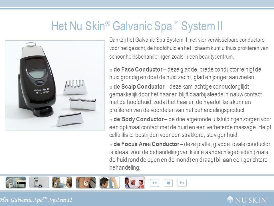 Het Nu Skin® Galvanic Spa™ System II