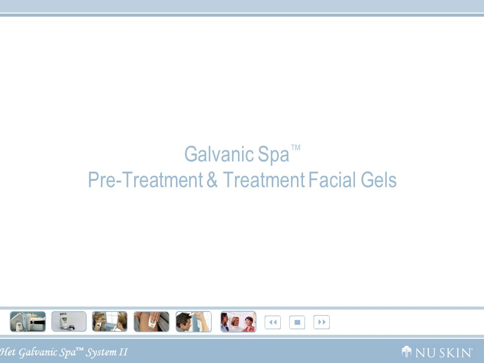Galvanic Spa™ Pre-Treatment & Treatment Facial Gels