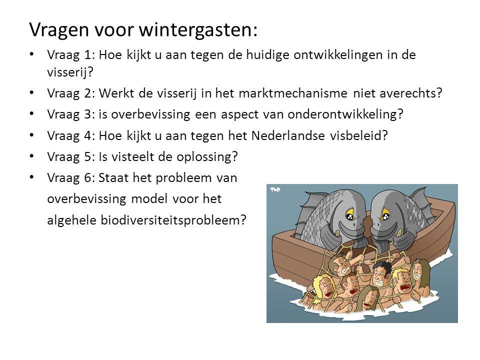 Vragen voor wintergasten: