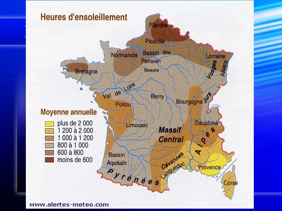 Klimaat in Frankrijk