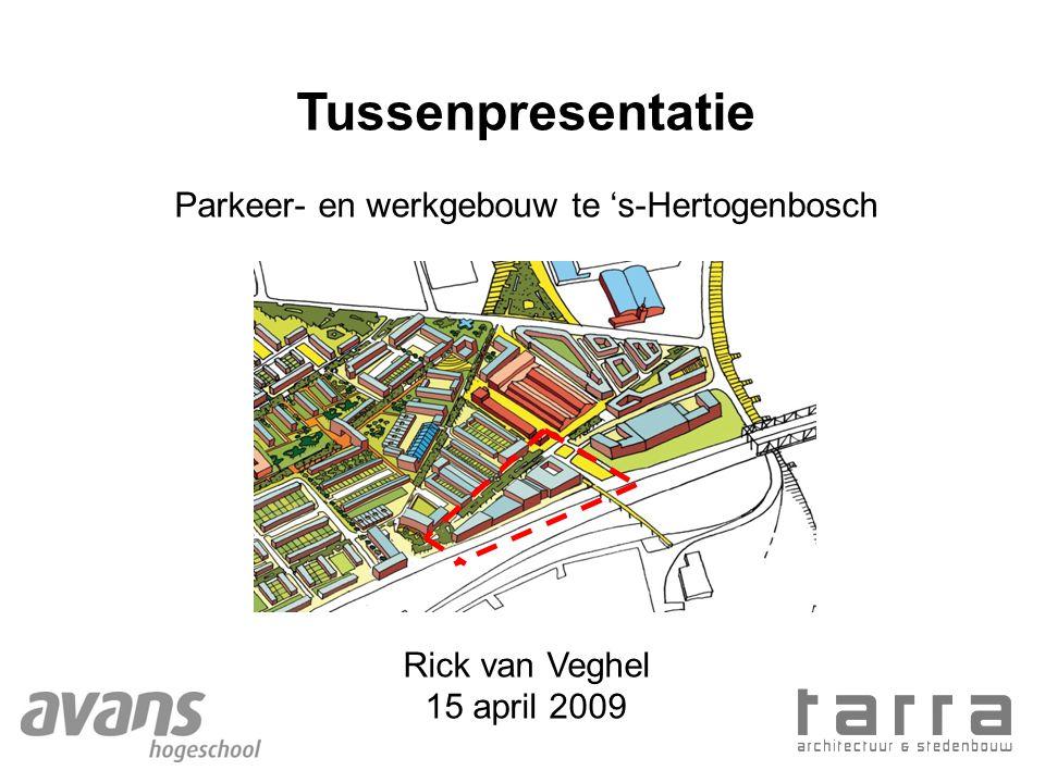 Parkeer- en werkgebouw te 's-Hertogenbosch
