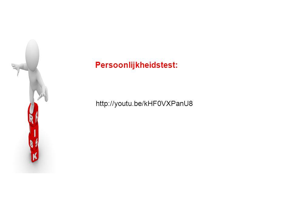 Persoonlijkheidstest:
