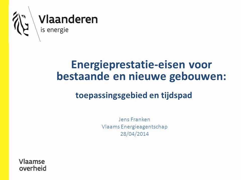 Energieprestatie-eisen voor bestaande en nieuwe gebouwen: