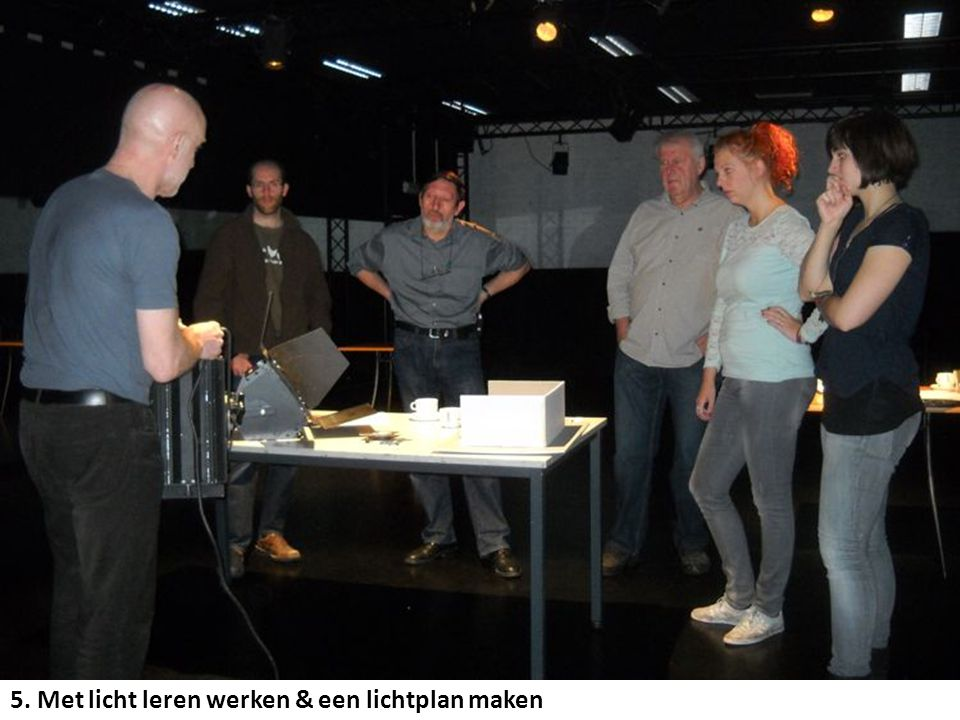 5. Met licht leren werken & een lichtplan maken