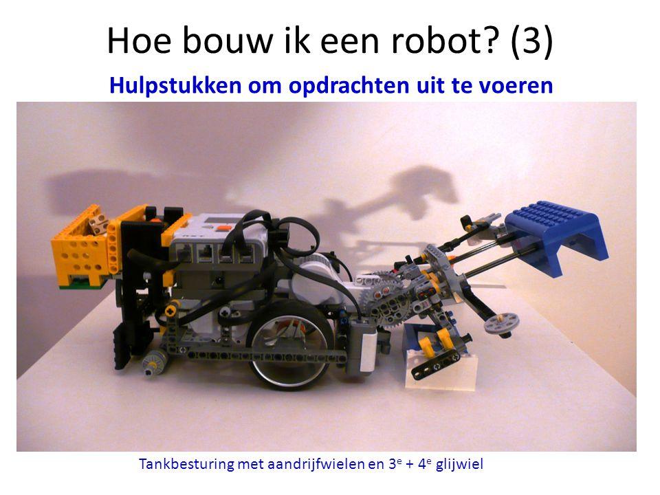 Hoe bouw ik een robot (3) Hulpstukken om opdrachten uit te voeren